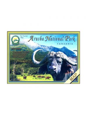 Map of Arusha National Park