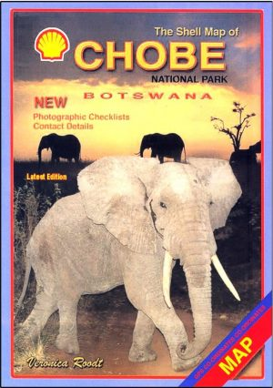 Map of Chobe Game Reserve