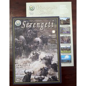 Map of Serengeti with Photographic Checklist